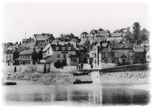 Historical Picture of Pill from River Avon